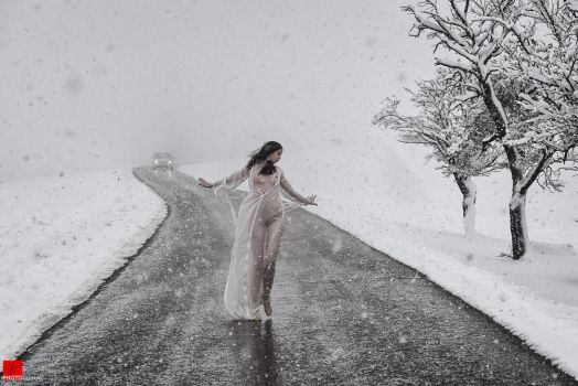 When the snow set in by Aisii