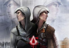connected by blood ezio-altair by MYuee
