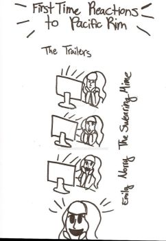Pacific Rim Doodles: The Trailer by TheSwearingMime