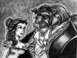 true love-beauty and the beast by love4me