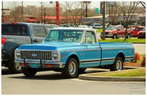 A 1972 Chevy C-10 Deluxe Truck by TheMan268