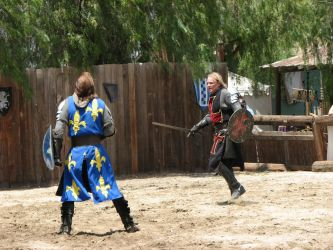 More Knight Joust Stock 032 by tursiart