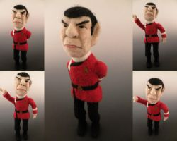 Spock Needle Felted by FeltAlive