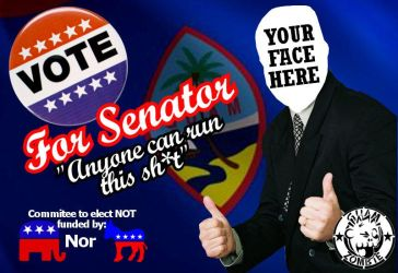 ANYONE for Senator by Guam-Zombie