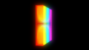 Color spectrum array by JoaoYates