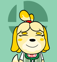 Isabelle turns over a new leaf by yoshi12345786