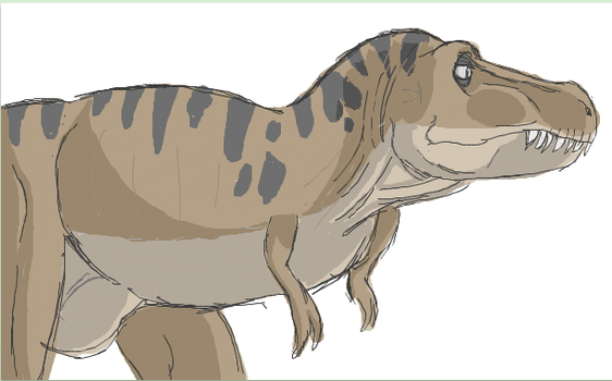 T-Rex -- IScribble by Skystalker