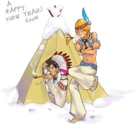 A HAPPY NEW YEAR 2005 by Sii-SEN