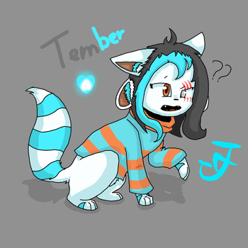 Tember (Character fusion-?-) by UnderTale-The-Human