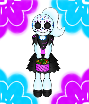 Day of Dead Snowflake by SnowmanEX711