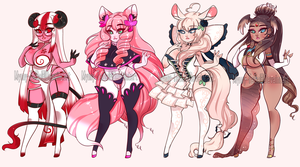(CLOSED) Curvy Adoptables .o41 by Mymy-TaDa
