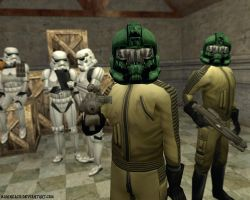Star Wars: Imperial Workers by MarineACU