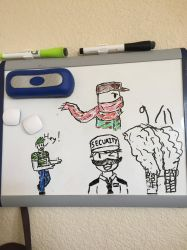 My Whiteboard  by BluetomDraws