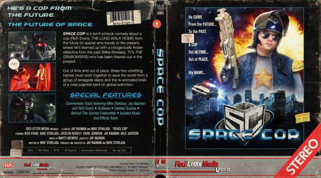 Space Cop Blu-ray Cover by themadbutcher