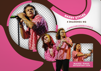 PACK PNG 420| HARRY STYLES by MAGIC-PNGS