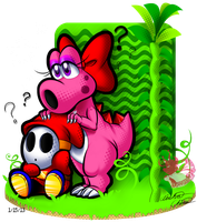 Birdo, Shy Guy, Stardom and Fame? by Bowser2Queen