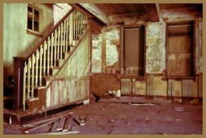Abandoned Lithograph Company - Stairs by cjheery