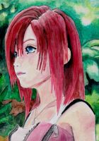 kairi kingdom hearts 2 by laura-93