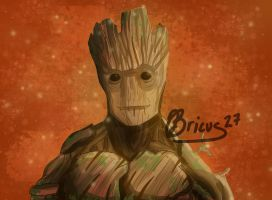 Groot by Bricus27