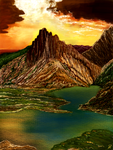 Mountainscape by MarianthiZ