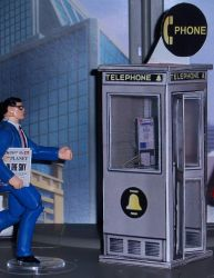 Phone Booth Papercraft by MisterBill82
