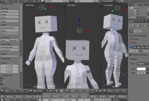 3D WIP 2 by ManiacPaint