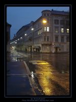 Graz at night by LisaTan