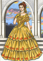 Disney Belle Of The Ball by Foxy-Lady-Jacqueline