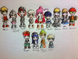 Puzzles Characters: Chibi by Izzi1313