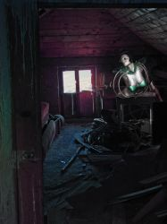 The Secret in the Old Attic by sanjab