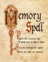 Memory Spell by Charmed-BOS