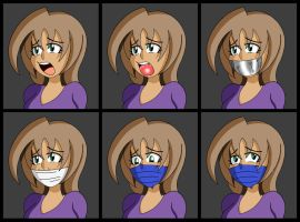 Nats (Gagging Sequence) by Zuryan-Arts