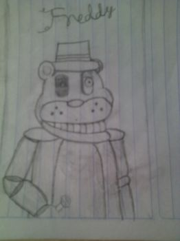 Freddy Fazbear by TheGoldenFreddy87