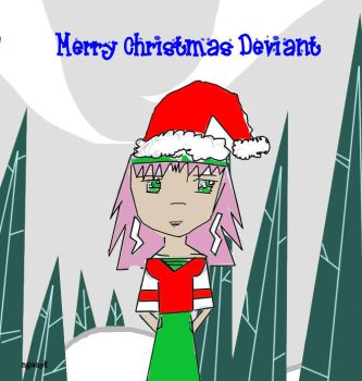 Merry Christmas Deviant by YourNameGoesHere