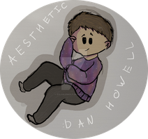 Dan howell sticker by Dylan-OWolf