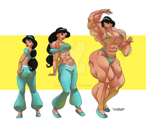 [C] Jasmine Muscle growtth by roemesquita