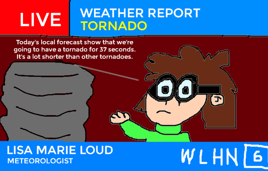 A Tornado Will Hit The Loud House for 37 Seconds! by MikeEddyAdmirer89