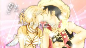 I'll be your PRINCESS [LUFFY X NAMI] by Smile-smiley
