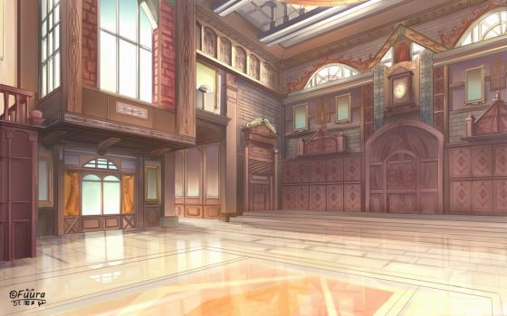 Golden Hall by AFD42