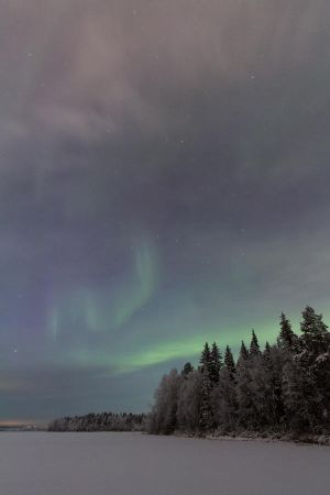 Winter auroras by Antz0