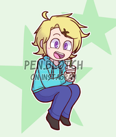 [COMMISSION] Yoosung by Pen-Blotch