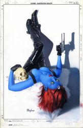 Mystique 9 Cover by mikemayhew