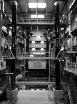 Inside of an industry by Fastgreen
