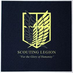Scouting Legion on Canvas fabric by HimeGabi
