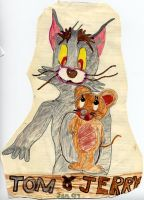 Tom and Jerry by Alecat