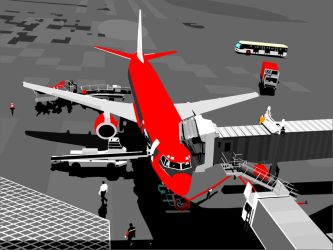 airportVECTOR by stingerblue