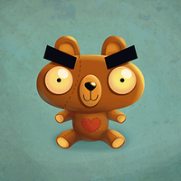 Brown Teddy by madPXL