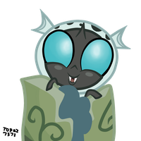 Baby Thorax(Vector) by Topaz-The-CrossCat73