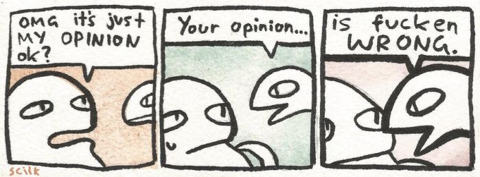 Opinion by scilk