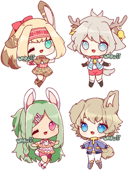 (#3 open!) collab point adopts 16 by waruuii
